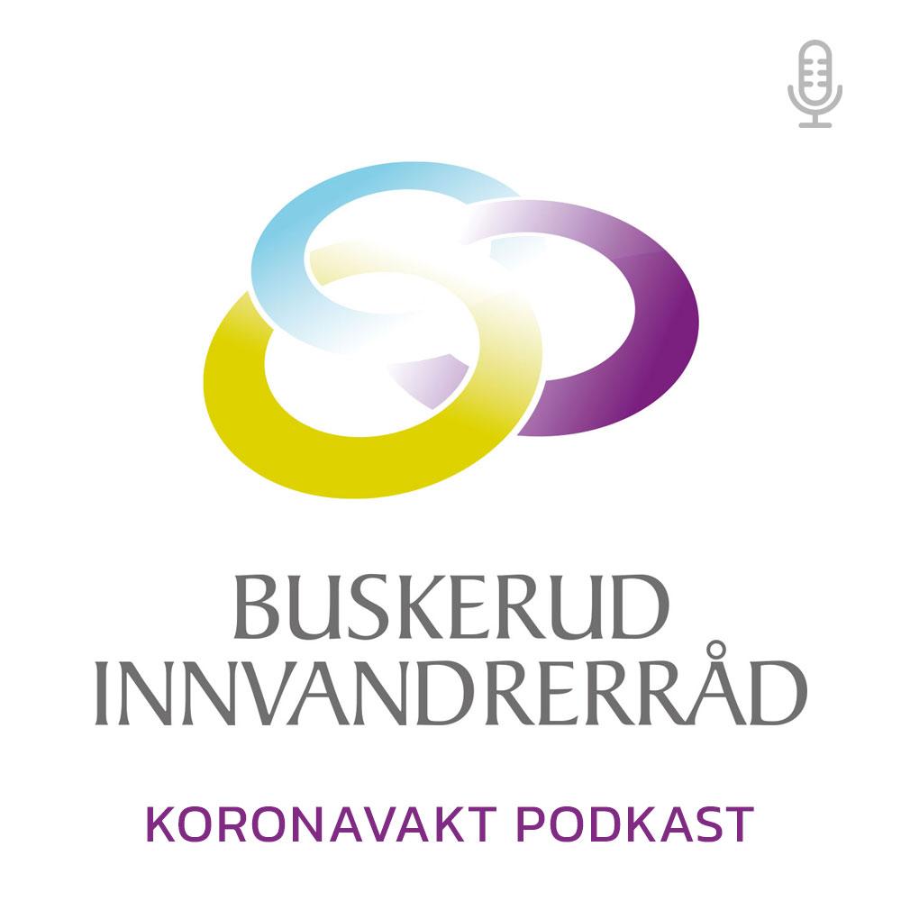 Koronavakt podkast fra Buskerud Innvandrerråd